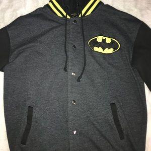 black and yellow batman jacket ( Hot topic )